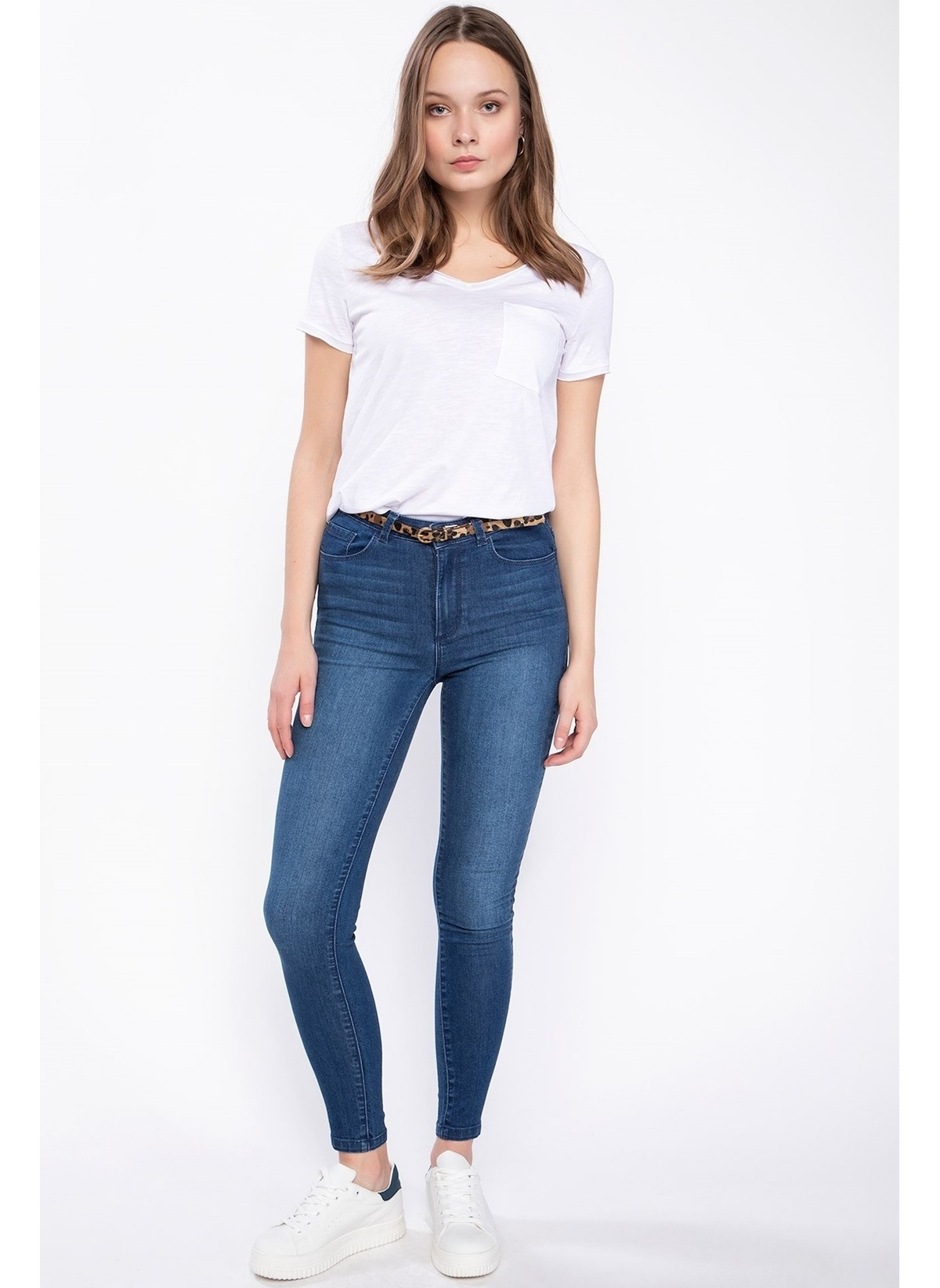 Defacto Anna Yüksek Bel Super Skinny Denim Pantolon J9122az19spnm28jean Pantolon – 59.99 TL